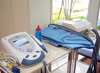 リハビリ設備(物理療法)